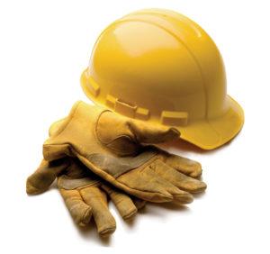 Bouwhelm-en-handschoenen
